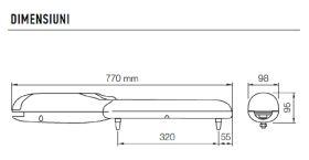 Kit automatizare pentru porti batante 2x2m, NICE WINGO2024KCE