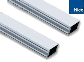 Bara modulara din aluminiu vopsita in alb, Nice WA22