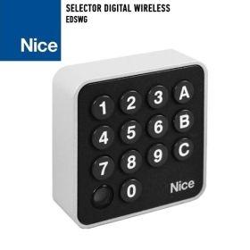 Selector digital wireless pentru automatizarile Nice, EDSWG