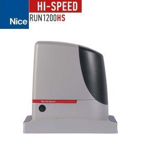 Kit complet automatizare poarta culisanta 6m, 1200Kg, Nice HI-SPEED RUN1200HS
