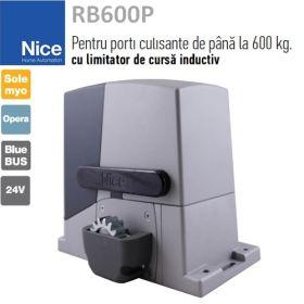 Kit automatizare poarta culisanta 4m, Basic, Nice RB600PMB4