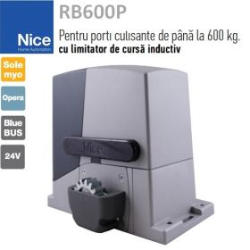 Kit automatizare poarta culisanta 4m, Full, Nice RB600PMF4