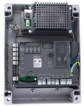 Centrala de comanda pentru automatizarile Nice Moonclever MC824L