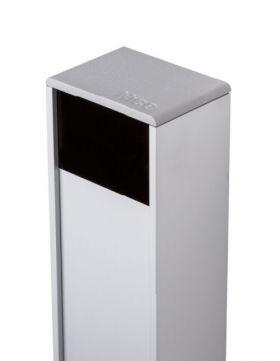 Coloana din aluminiu cu carcasa pentru fotocelule, Nice PPH1